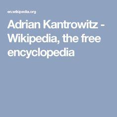 Adrian Kantrowitz