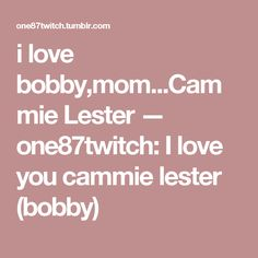 Cammie Lester