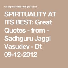 Jaggi Vasudev