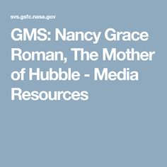 Nancy Grace Roman