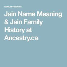 Jain family
