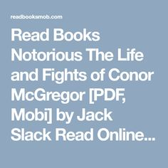 Conor Jack McGregor