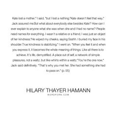 Hilary Thayer Hamann
