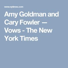 Amy Goldman Fowler