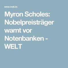 Myron Scholes