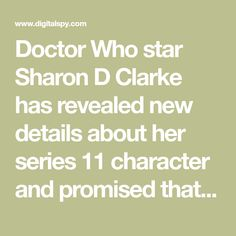 Sharon D. Clarke