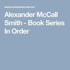 Alexander Mccall Smith