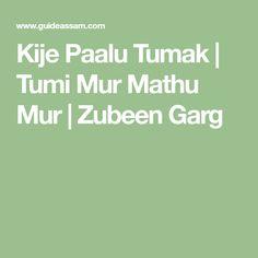 Zubeen Garg