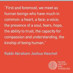 Abraham Joshua Heschel