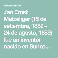 Jan Ernst Matzeliger