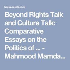 Mahmood Mamdani