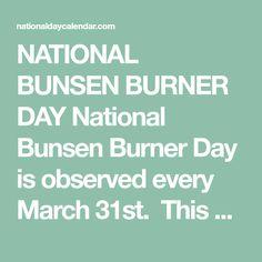 Robert Bunsen