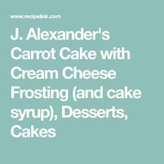 J Alexander