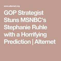 Stephanie Ruhle
