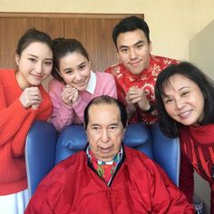 Stanley Ho & family