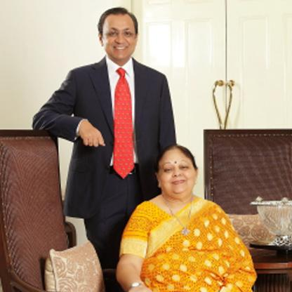 Vinod & Anil Rai Gupta & family